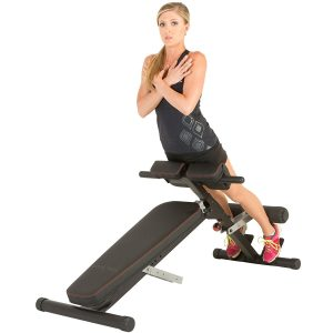 Fitness Reality X-Class Light Commercial Multi-Workout Abdominal Hyper Back Extension Bench