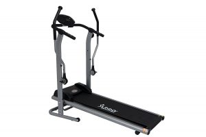 Sunny Health & Fitness SF-T7615 Cross Training Manual Magnetic Treadmill