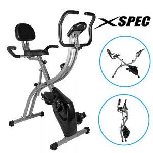 Xspec Dual Recumbent Upright Indoor Bike