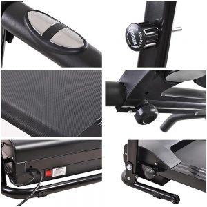 aw 1100w electric motorised treadmill