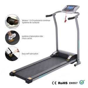 ANCHEER S8400 Electric Foldable Treadmill