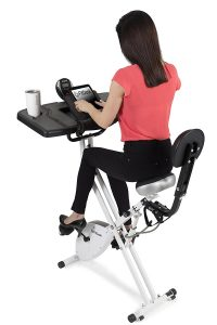 FitDesk 3.0 Desk Exercise Bike - Massage Bar