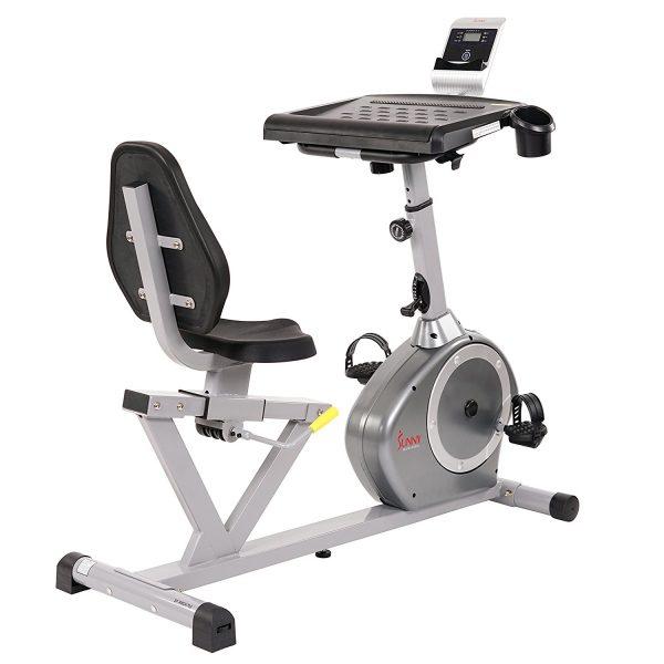 Sunny Health & Fitness Recumbent Desk Exercise Bike SF-RBD4703