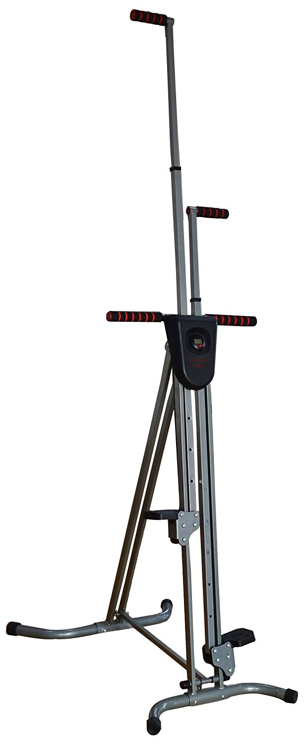 BalanceFrom BF-C1 Vertical Climber with Cast Iron Frame and Digital Display
