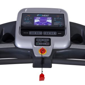 EFITMENT T012 Auto Incline Folding Treadmill display