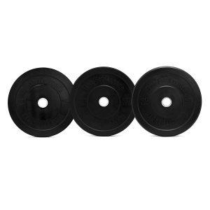 OneFitWonder Black Bumper Plates