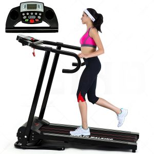 Fitness Club 1100W Reinforced Folding Electric Treadmill