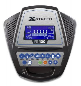 XTERRA FS400 Elliptical Trainer Display