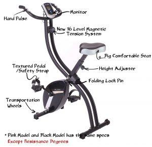 pleny foldable magnetic bike