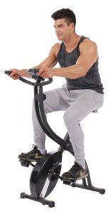 pleny foldable magnetic exercise bike