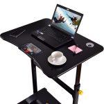 Goplus Electric Treadmill Desk Standing- Walking Machine