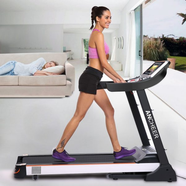 S900 10.1 Inch Large Screen Folding Treadmill