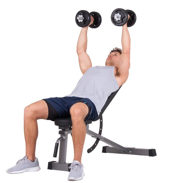 Body Power Multi-purpose Adjustable Fitness Weight Bench