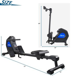 Merax Indoor Magnetic Rowing Machine