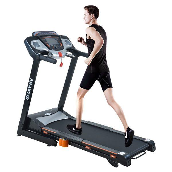 Shayin Q711 Treadmill Folding Electric Treadmill