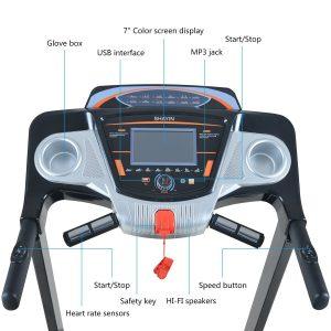 Shayin Q711 Treadmill Folding Treadmill