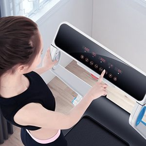 IUBU Fitness Folding Treadmill Display