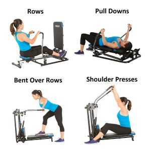 ProGear 750 Rower with Additional Multi Exercise Workout