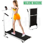 Senrob Folding Manual Treadmill