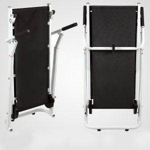 Senrob Folding Manual Treadmill with Adjustable Incline