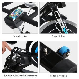 Trbitty Belt Drive Indoor Spinning Bike