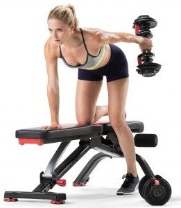 Bowflex 5.1S Stowable Weight Bench