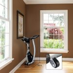 Feierdun Adjustable Folding Upright Magnetic Stationary Bike