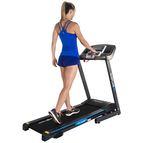 Goplus 2.25HP Folding Electric Treadmill
