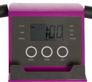Flex Bike Ultra in Pink LCD Display