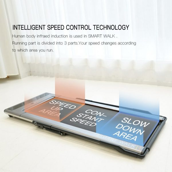 I-po Treadmill Smart Walk Slim Tread Folding