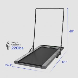 I-po Treadmill Smart Walk Slim Treadmill