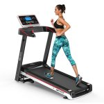 Simpfree Electric Folding Treadmill, Motorized