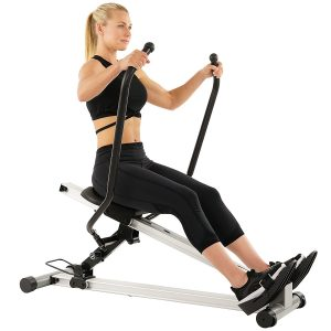 Sunny Health & Fitness Incline Full Motion Rower SF-RW5720