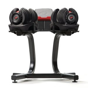 Bowflex SelectTech Dumbbell Stand with Media Rack