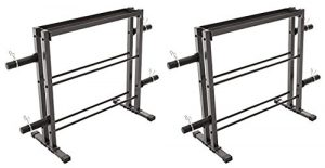 Marcy Combo Weights Storage Rack 2 Pack