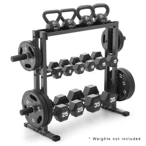 Marcy Combo Weights Storage Rack