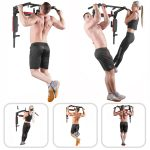 Bar2Fit Sports Wall Mounted Pull Up Chin Up Dip Bar