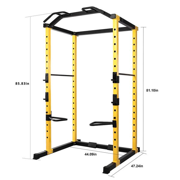 HulkFit Multi-Function Adjustable Power cage