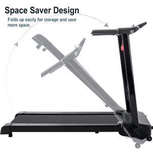Merax JK103A Easy Assembly Folding Treadmill