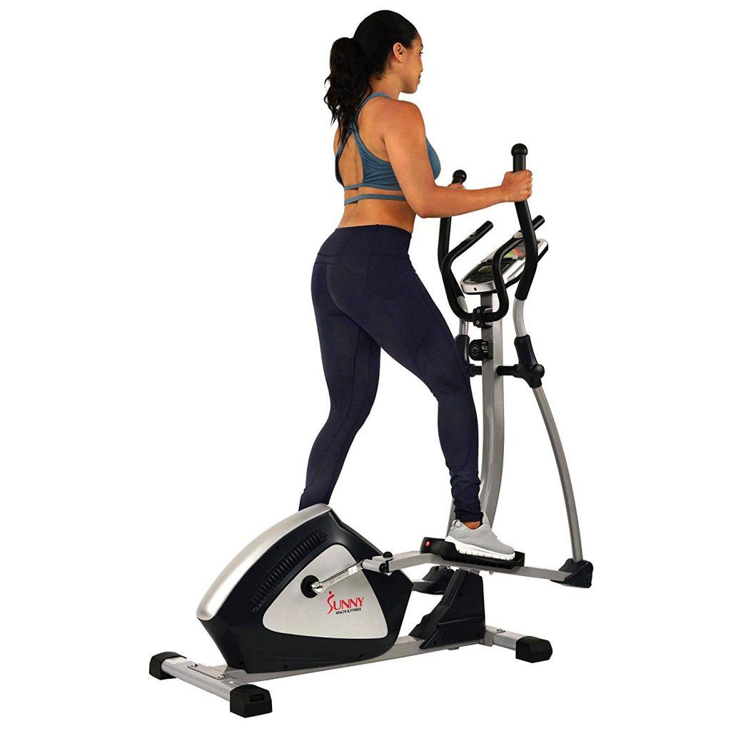 Sunny Health & Fitness SF-E3804 Magnetic Elliptical Trainer