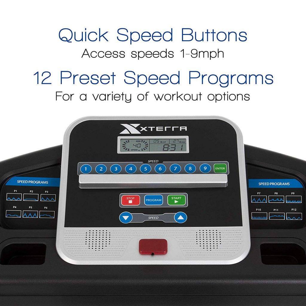 XTERRA Fitness TR150 LCD Display