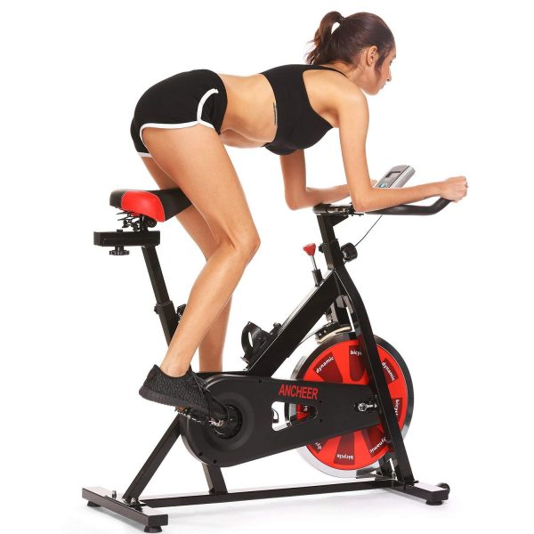 ANCHEER-A5001 Indoor Cycling Bike, Belt Drive