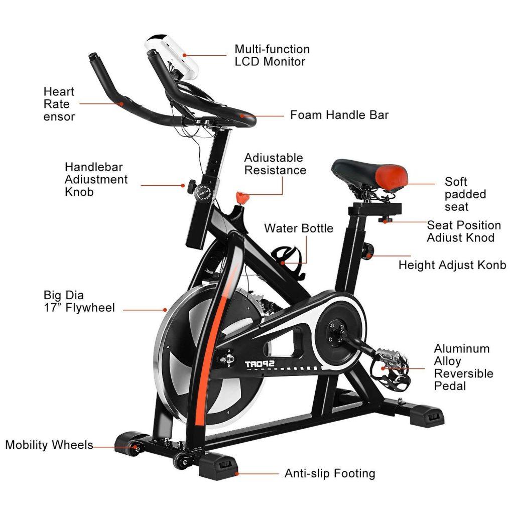 Civigrape Indoor Spin Bike