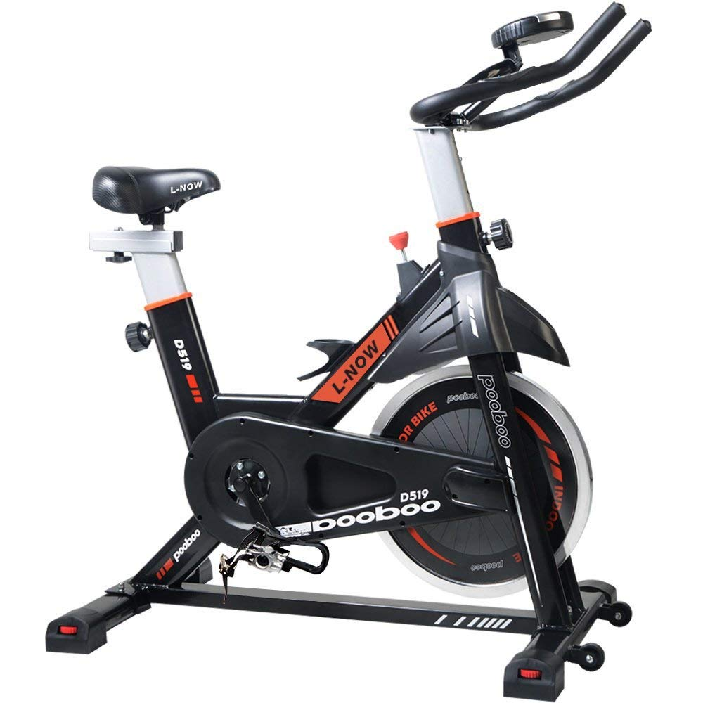 L Now Pooboo Indoor Cycling Bike