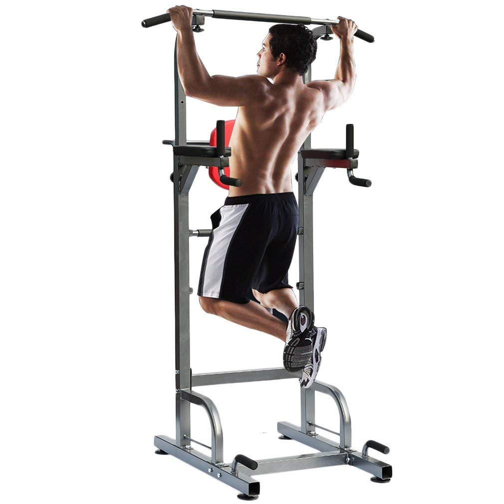 Nexttechnology Power Tower Heavy Duty Pull Up Dip Station