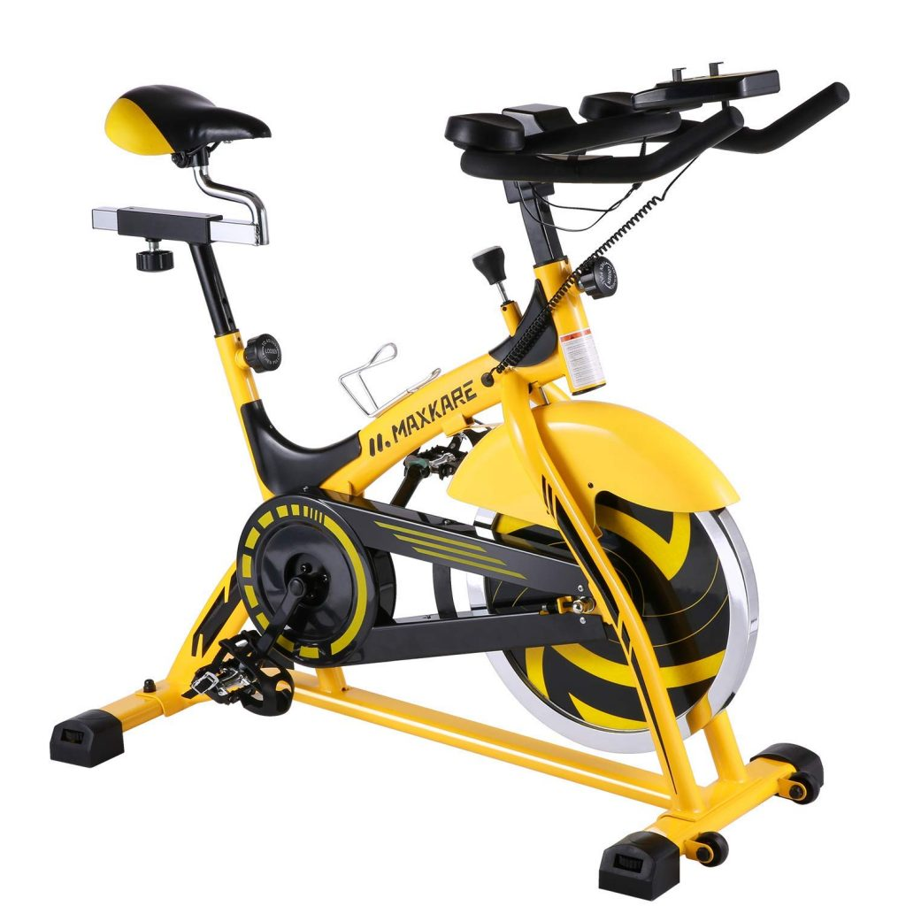 MaxKare Indoor Professional Stationary Spin Bike