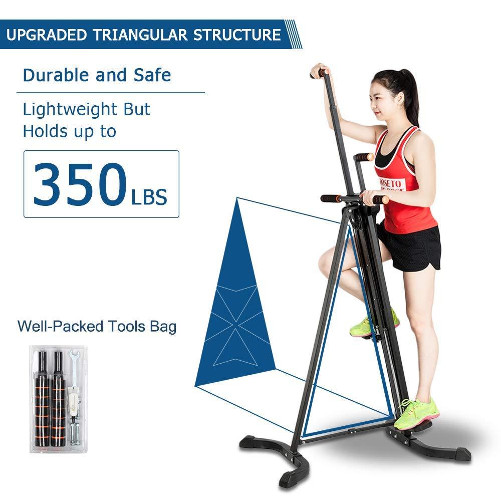 Pexmor Upgraded Foldable Vertical Climber Triangular