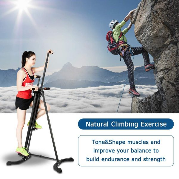 Pexmor Upgraded Foldable Vertical Natural Climber