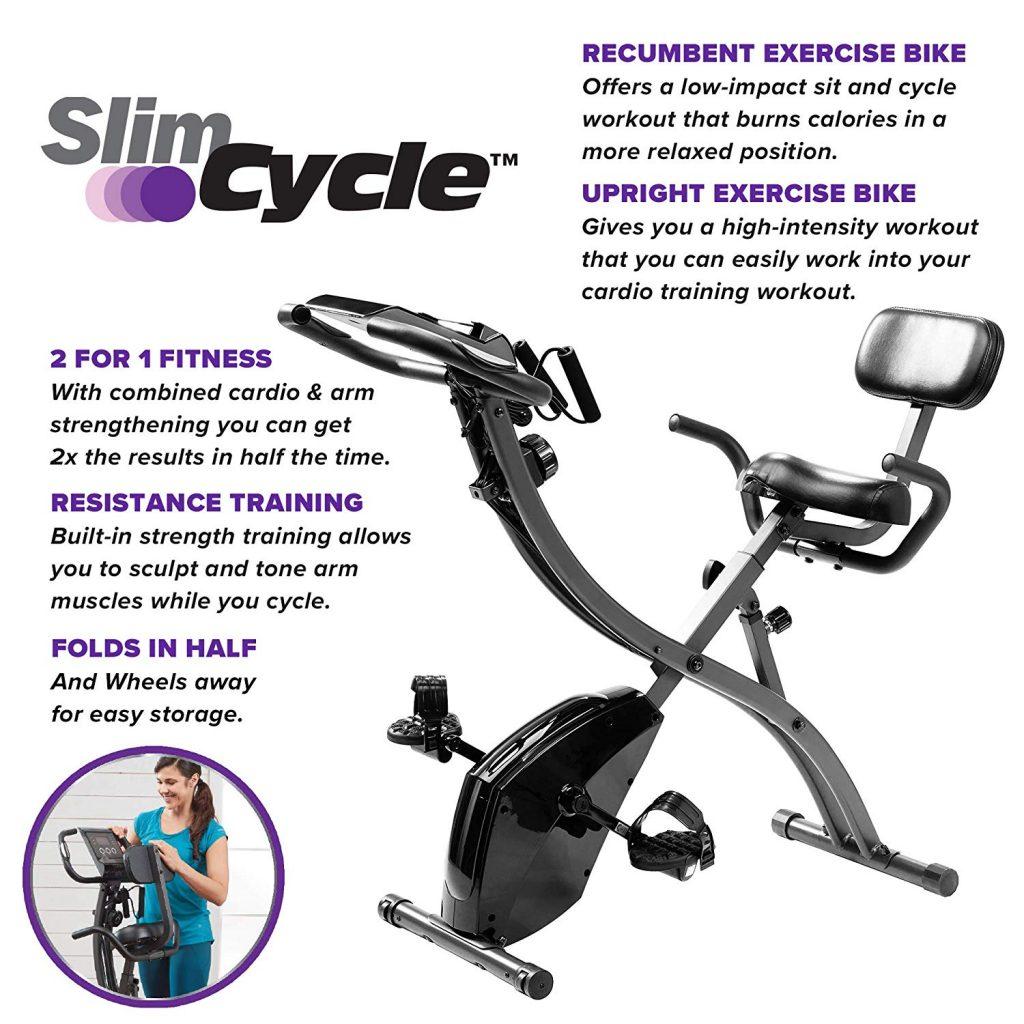 BulbHead Original As Seen On TV Slim Cycle 2-in-1 Bike