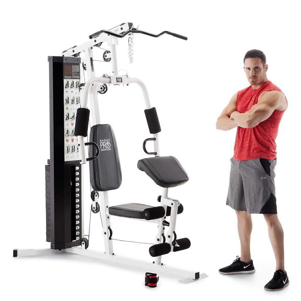 Marcy 150-lb Multifunctional Home Gym Station